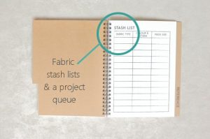 makers workbook sewing