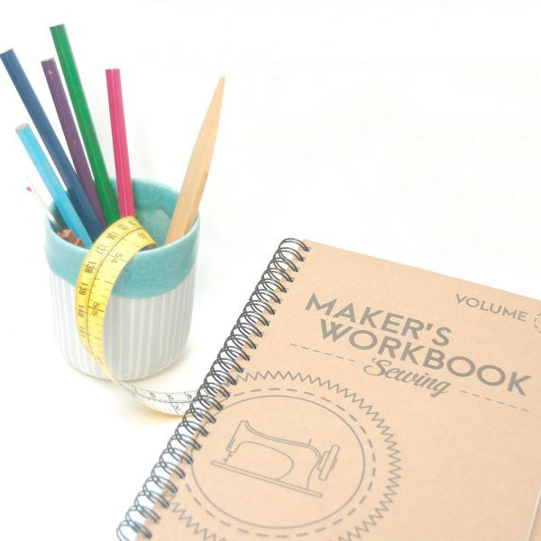 Makers workbook & pot
