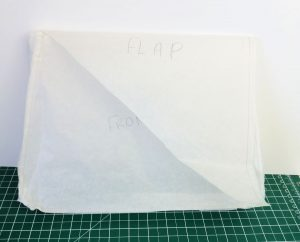 How to draft a bag pattern