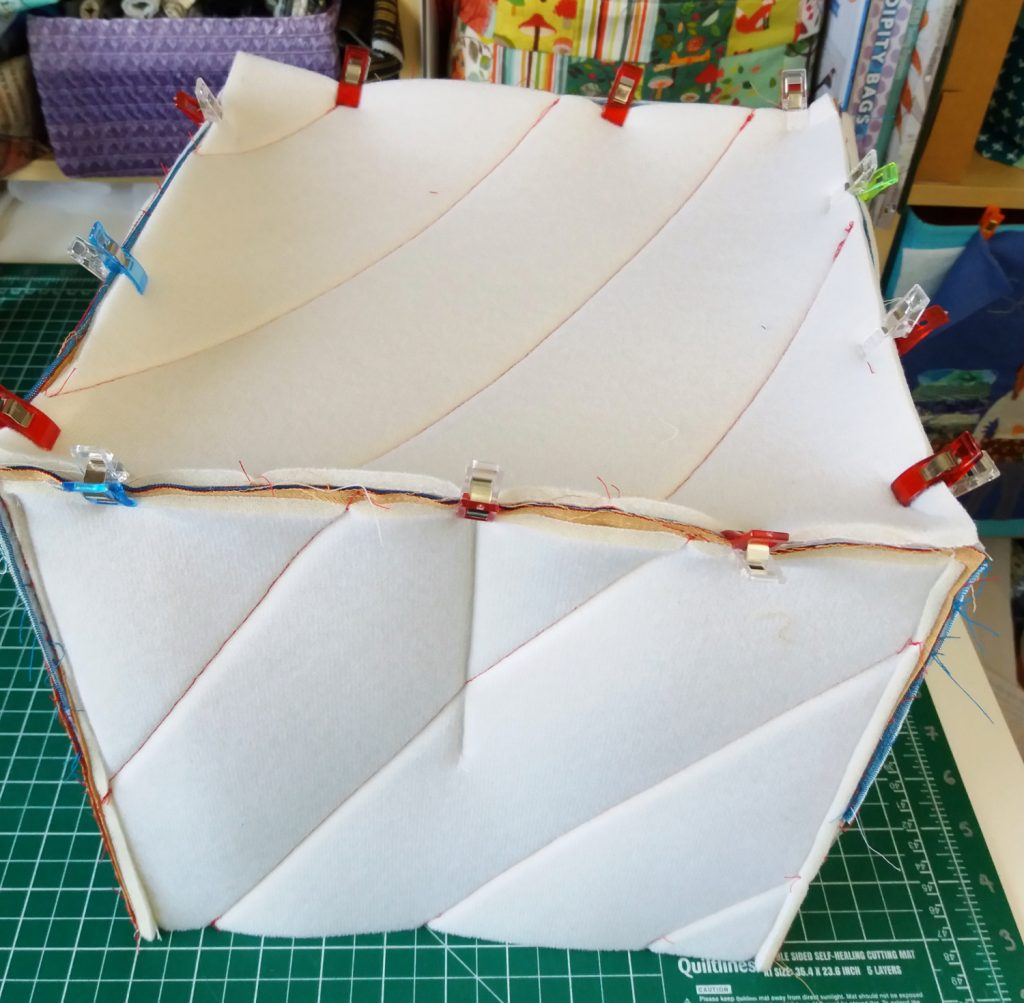 Craft box sewing tutorial