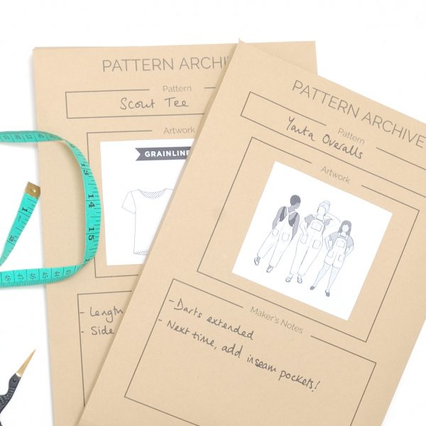 Sewing pattern storage envelopes (1)